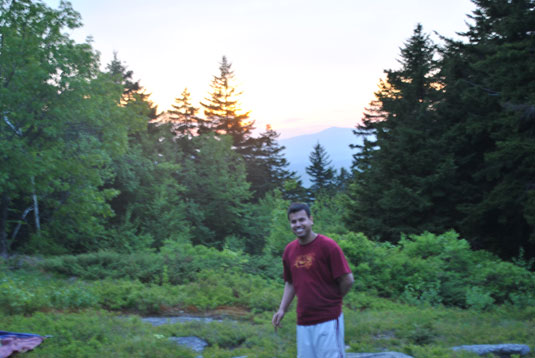 Evan at Mt. Monadnock