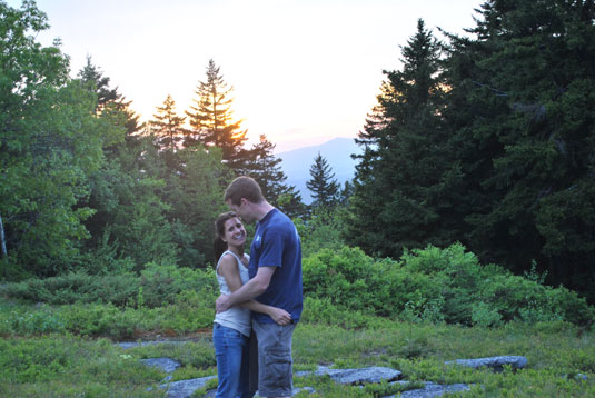 Heather and Haven at Mt. Monadnock