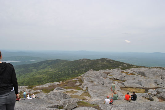 View from the Summit of Mt. Monadnock