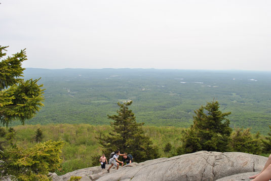 View from the White Dot Trail of Mt. Monadnock