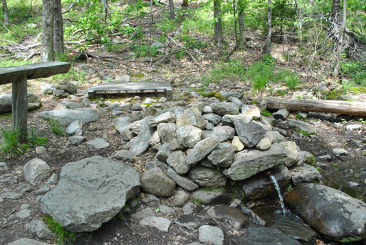 Replenish water in Mt. Monadnock