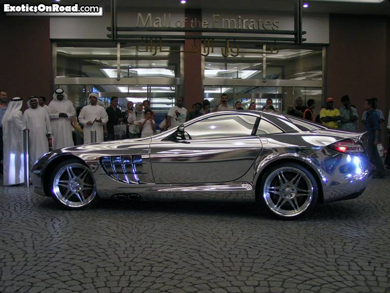 White Gold Mercedes Benz