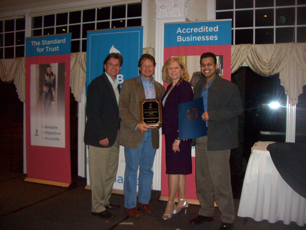 Basement Systems wins the BBB Web Marketing award in 2007