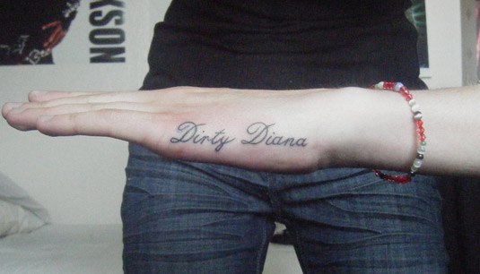 Dirty Diana Tattoo