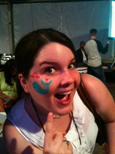 Face Painting of Twitter Fail Whale