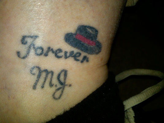Michael Jackson Tattoo - Forever MJ