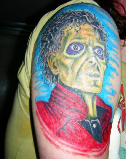 Michael Jackson Tattoo - Thriller