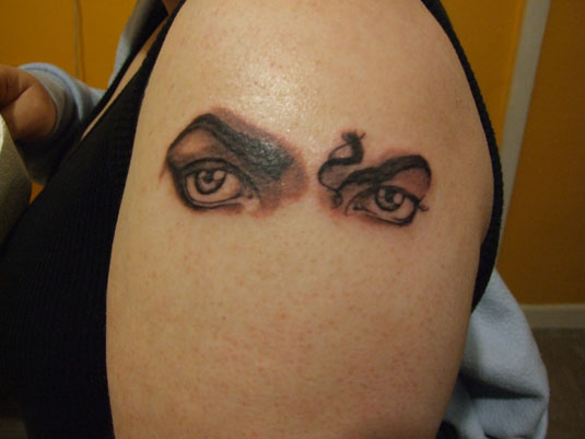 Michael Jackson Tattoo by Martana Price
