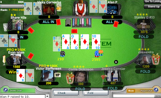 how rare is a royal flush in texas holdem