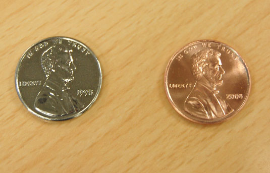 1998 US Silver Penny