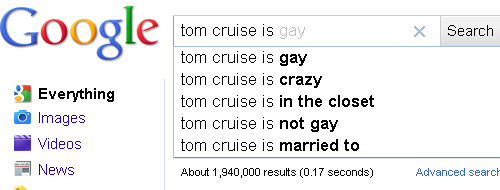 Google Tom Cruise