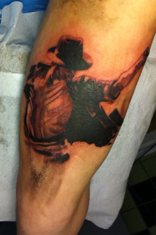 Michael Jackson Tattoo by Erik from Sweden