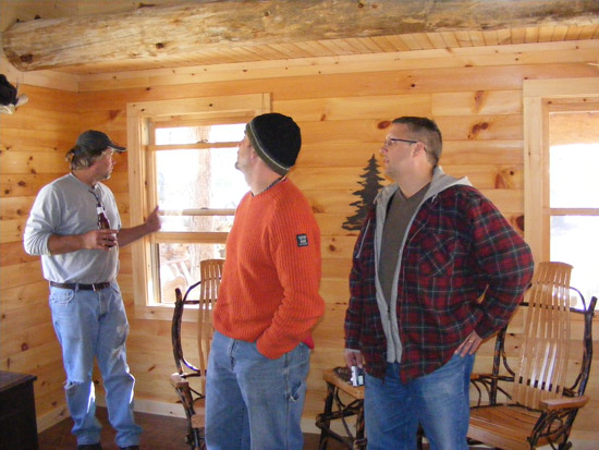 Inside the Cabin: Eddy, Chad, Todd
